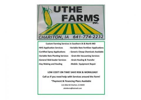 Custom Farming Services