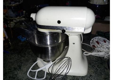 Kitchenaid  mixer and attachments