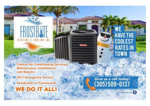 Frostbite Heating & Cooling Inc