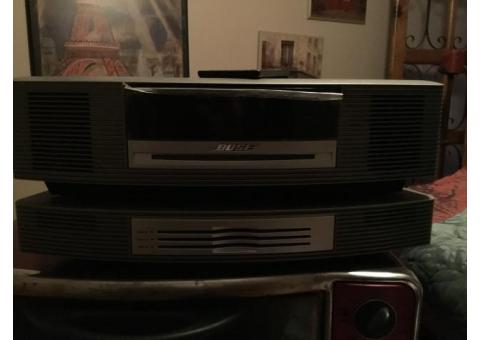 Bose stereo with CD player and remote control
